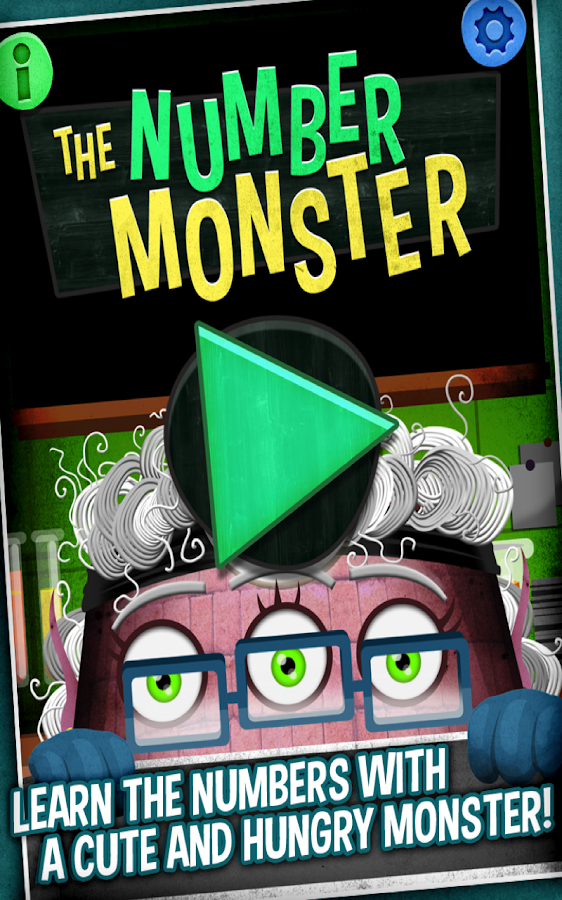 The Number Monster - screenshot