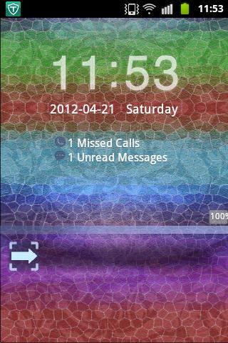 GO Locker Theme Blue Red Green- screenshot