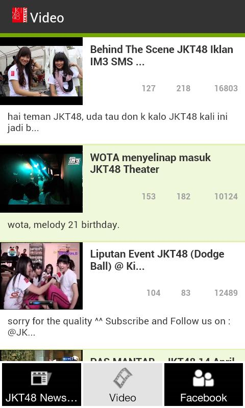 JKT48 News and Video - screenshot