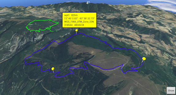 3D Map Gps Hiking Navigator - screenshot thumbnail