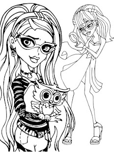Monster Coloring High Kids