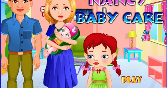 Nancy newborn baby care - screenshot thumbnail