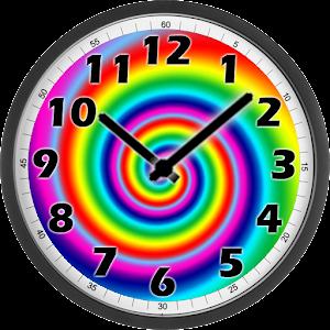 Psychedelic Clock