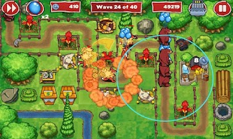 Screenshot of Zoo Defenders™ - Play Now!