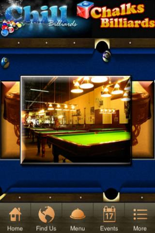 Chalks Chill Billiards- screenshot