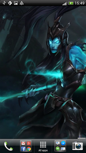 LoL Kalista Live Wallpaper
