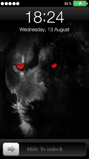 ライオンハート画面ロック