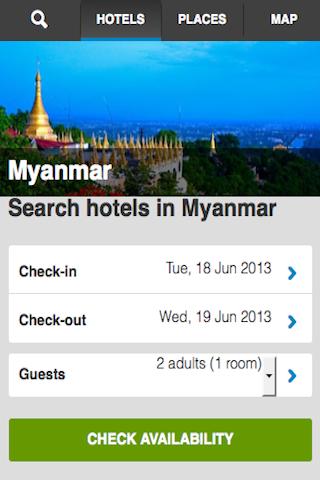 Myanmar Hotels Booking Cheap