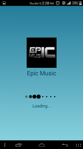 Epic Music Player