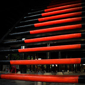 Red Line by Muhammad Syuhada - Abstract Patterns