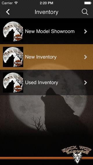 black wolf harley-davidson - android apps on google play