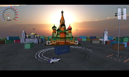 Kremlin Drift Simulator
