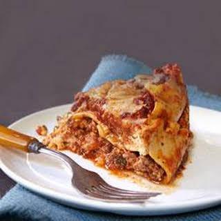 Slow-Cooker Lasagna.