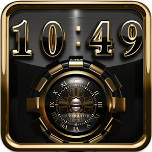 digital clock widget Imperator APK
