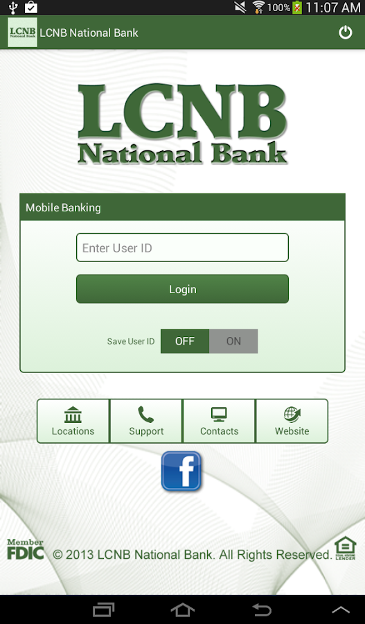 LCNB Mobile - screenshot
