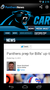 Panthers News - screenshot thumbnail