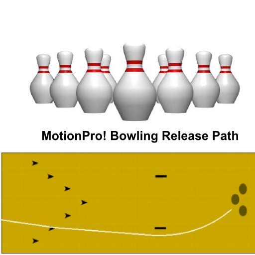Bowling Release Path MotionPro LOGO-APP點子