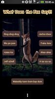 Screenshot of Fox Say What? Soundboard