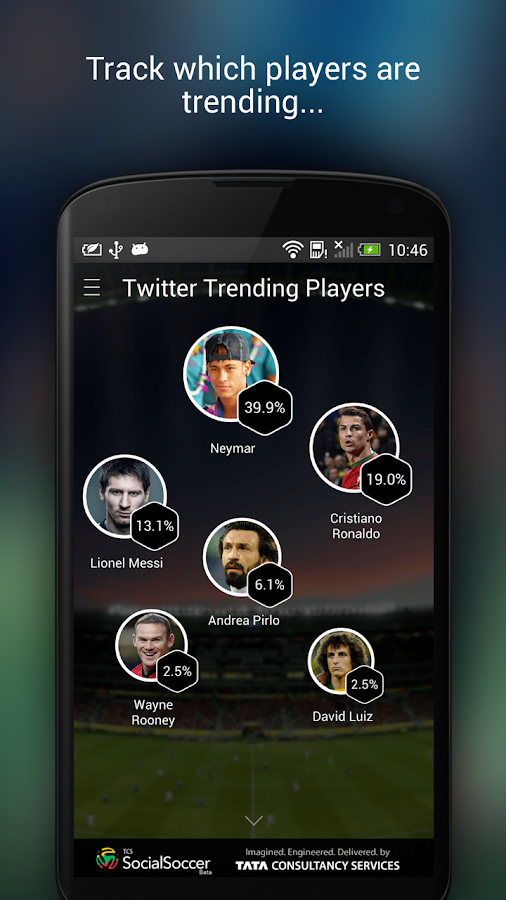 TCS SocialSoccer - screenshot