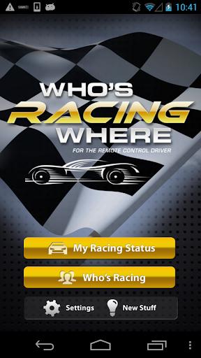 Who's Racing Where