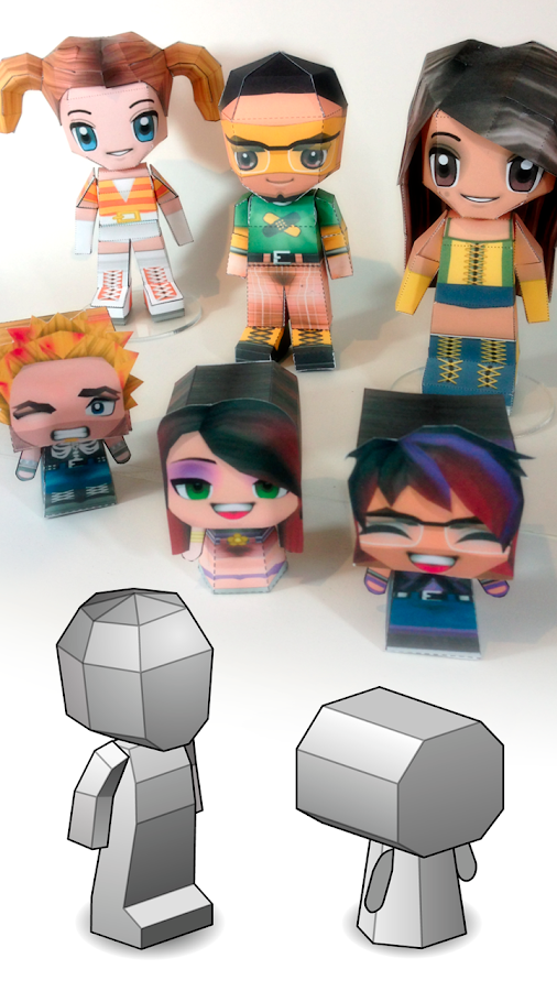 3D Papercraft - PaperChibi- screenshot