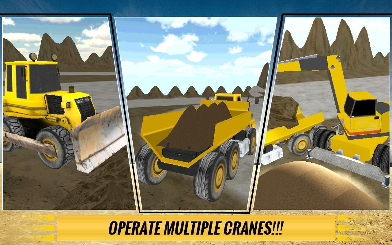 Sand-Excavator-Dump-Truck-Sim 21