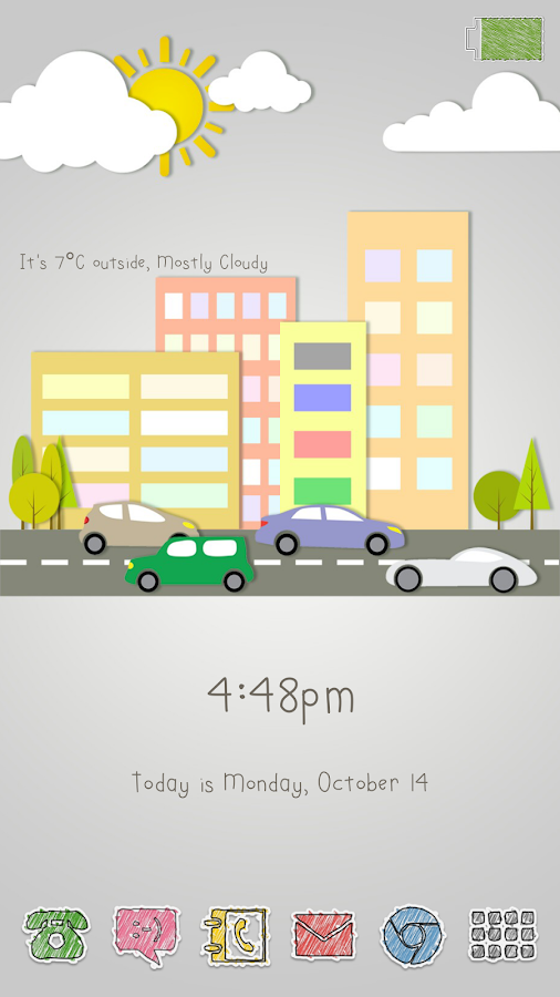 Diddly Widgets - screenshot