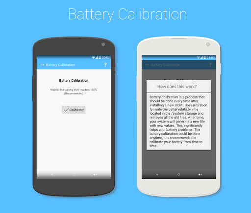 Battery Calibration [ROOT]