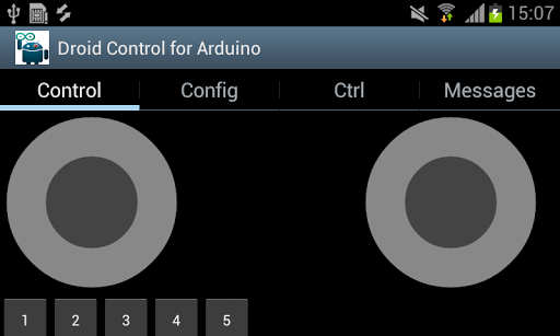 Droid Control for Arduino