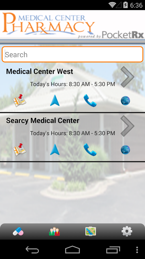 Medical Center Pharmacy Rx- screenshot