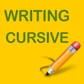 Writing Cursive