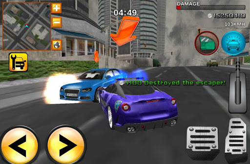 Crime City Real Police Driver 4.1 screenshots 5