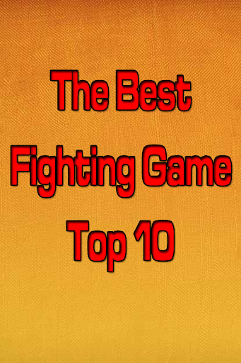 The Best Fighting Game Top 10