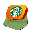 Paris Starbucks + logo