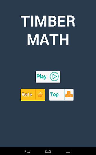 Timber Math