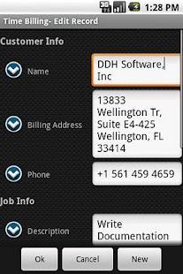 HanDBase Database Manager- screenshot thumbnail