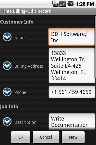 HanDBase Database Manager- screenshot