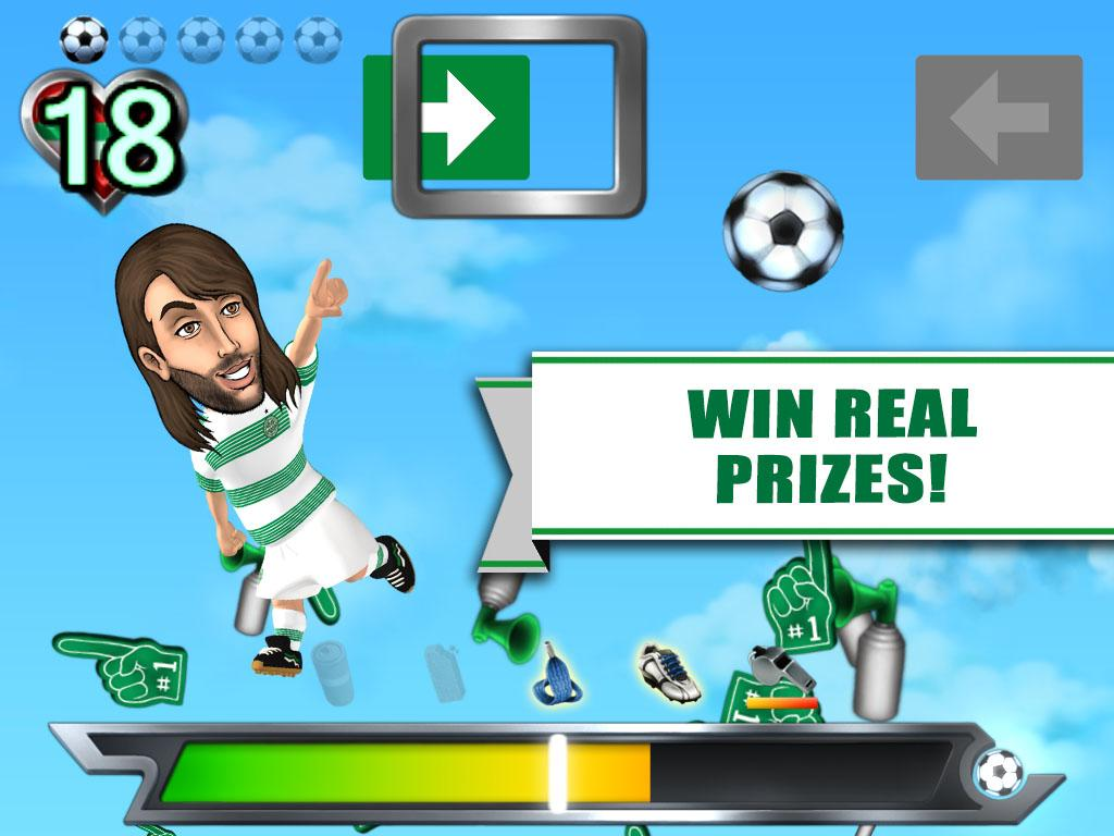 Celtic FC Powershot Challenge - screenshot