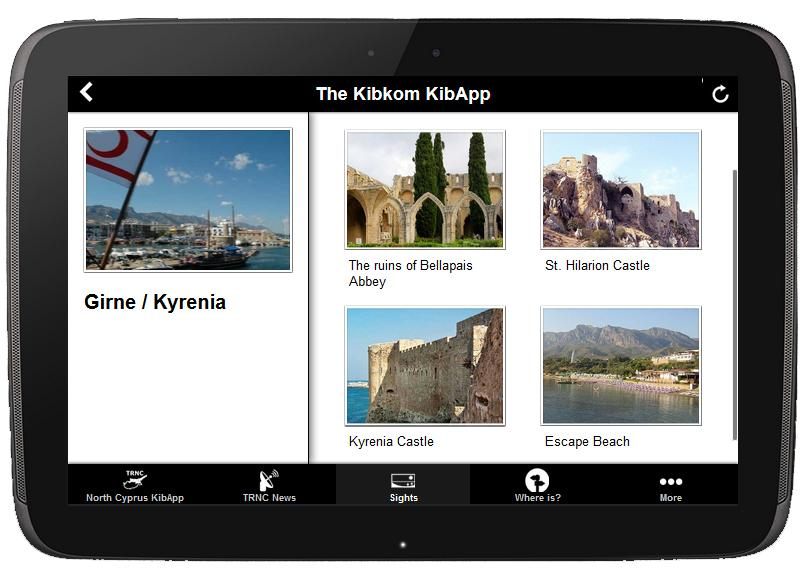 KibApp Cyprus Travel Guide- screenshot