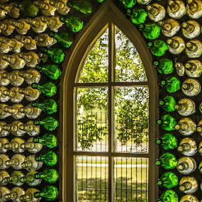 Bottle Church by Tammy Drombolis - Buildings & Architecture Other Interior ( , building, interior, worship )