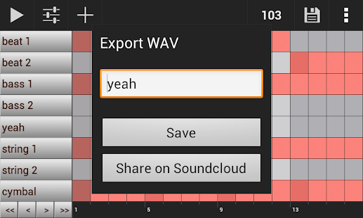 GrooveMixer - Music Beat Maker - screenshot thumbnail