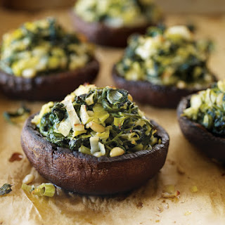 Stuffed Portobello Mushrooms with Farro