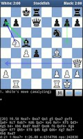 Screenshot of DroidFish Chess