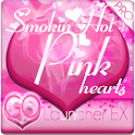 Smokin HOT PINK GO Launcher EX logo