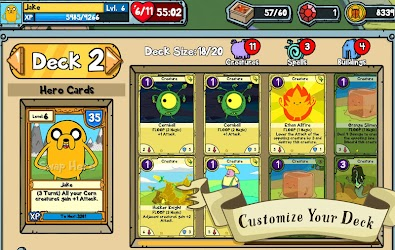 Card Wars - Adventure Time v1.0.7 Apk + OBB Data 1