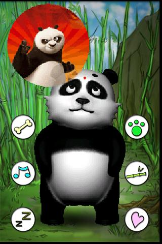 Talking Lily Panda - screenshot