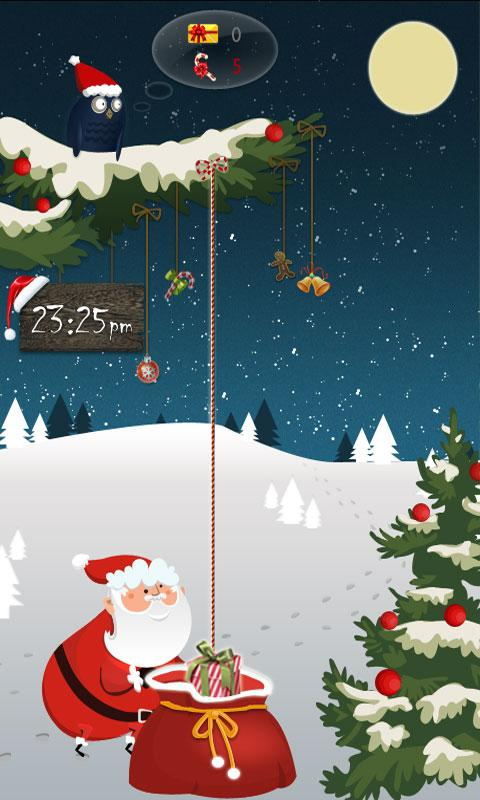 GO Locker Santa Claus Theme - screenshot