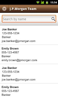 J.P. Morgan Mobile - screenshot thumbnail