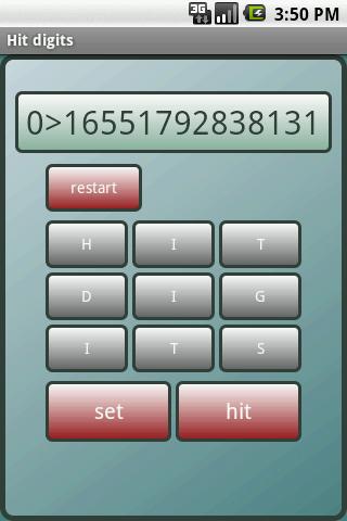 Hit digits 1.0 Windows u7528 1