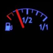 電池残量確認(ガソリンメーター風)